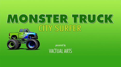 A free monster truck game with unlimited levels