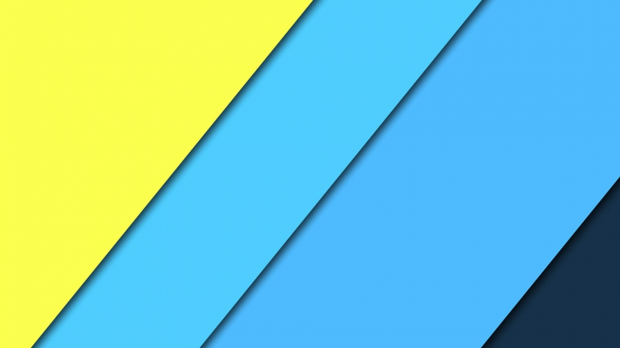 2017 Blue Color Material Design FHD Wallpaper 1