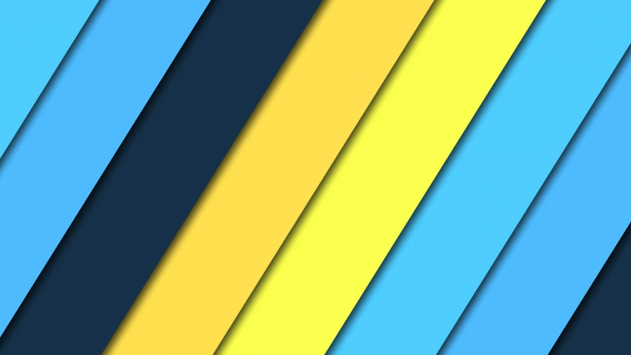 2017 Blue Color Material Design FHD Wallpaper 13