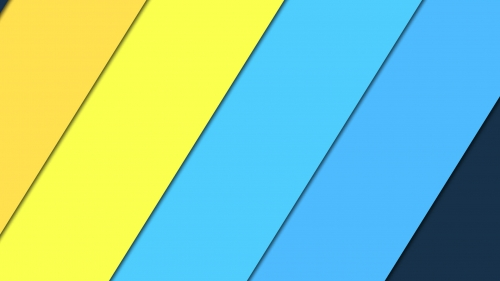 2017 Blue Color Material Design FHD Wallpaper 23