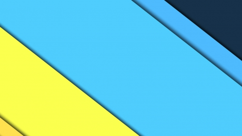 2017 Blue Color Material Design FHD Wallpaper 24