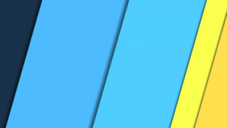 2017 Blue Color Material Design FHD Wallpaper 33