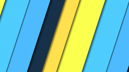 2017 Blue Color Material Design FHD Wallpaper 36