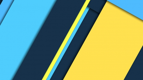 2017 Blue Color Material Design FHD Wallpaper 4