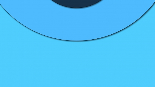 2017 Blue Color Material Design FHD Wallpaper 47