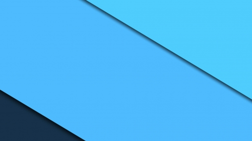2017 Blue Color Material Design FHD Wallpaper 5
