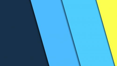 2017 Blue Color Material Design FHD Wallpaper 51