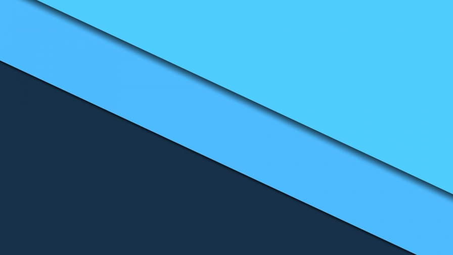 2017 Blue Color Material Design FHD Wallpaper 60
