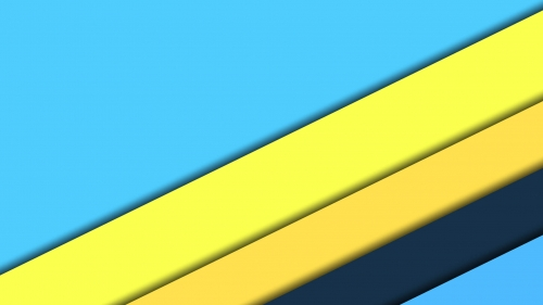 2017 Blue Color Material Design FHD Wallpaper 62