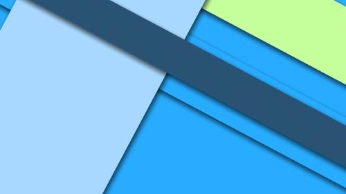 2017 Blue Color Material Design FHD Wallpaper 67