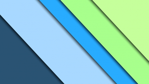 2017 Blue Color Material Design FHD Wallpaper 69