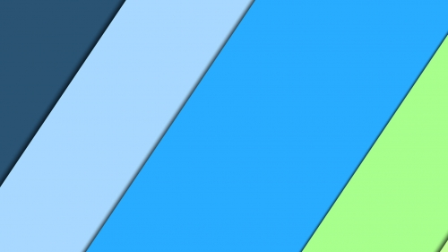 2017 Blue Color Material Design FHD Wallpaper 73