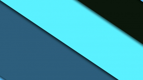 2017 Blue Color Material Design FHD Wallpaper 87