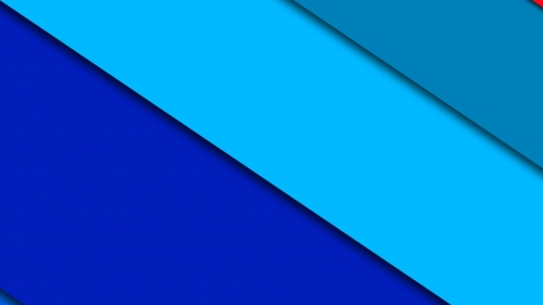 2017 Blue Color Material Design FHD Wallpaper 89