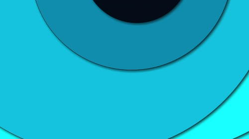 2017 Blue Color Material Design FHD Wallpaper 90