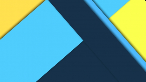 2017 Blue Color Material Design FHD Wallpaper 91