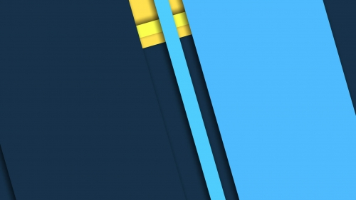 2017 Blue Color Material Design FHD Wallpaper 95