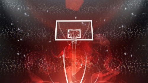 A Basketball Court Sports QHD Wallpaper