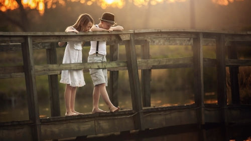 A Boy And A Girl   Photography HD Wallpaper