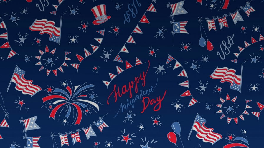 A Collage USA Independence Day 4th July Events QHD Wallpaper