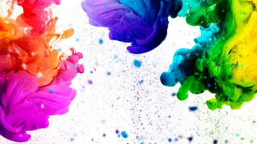 A Colorful Splash Abstract QHD Wallpaper 2