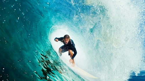 A Man Surfing Photography QHD Wallpaper