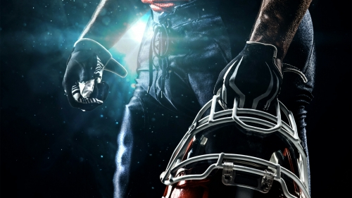 A Player Holding His Helmet Sports QHD Wallpaper