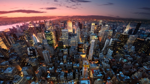 A View from the Top New York City UHD Wallpaper
