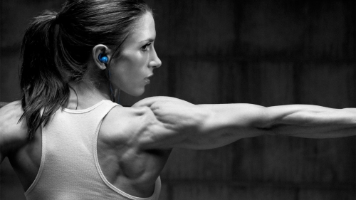 A Woman Working Out In The Gym Health HD Wallpaper 9