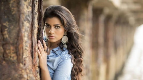 Aishwarya Rajesh Indian Bollywood Film Actress High Quality Wallpaper