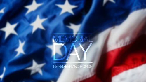 American Flag Memorial Day Events QHD Wallpaper