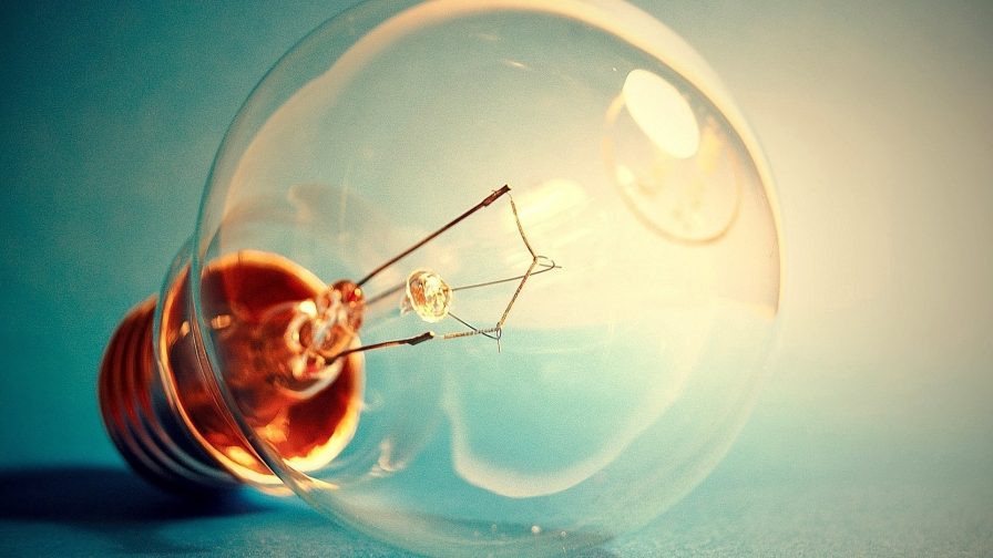 An Idea Strikes A Light Bulb HD Wallpaper