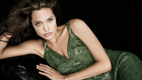 Angelina Jolie Portrait HD Wallpaper 3