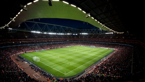 Arsenal Football Stadium Night View QHD Wallpaper