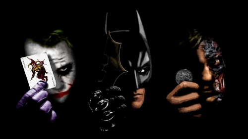 Batman Joker And Two Face HD Wallpaper
