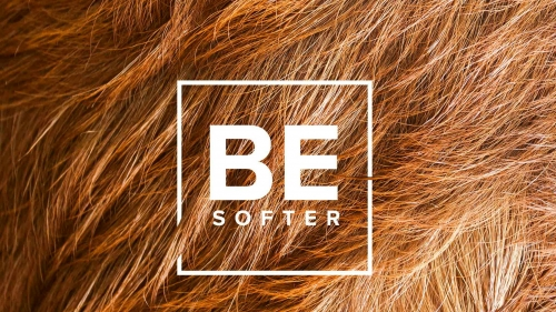 Be Softer Quotes QHD Wallpaper