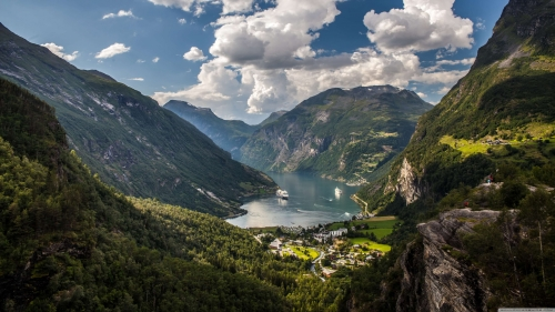Beautiful Sights And Scenes Of Norway World Travel HD Wallpaper 1
