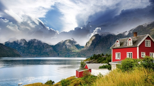 Beautiful Sights And Scenes Of Norway World Travel HD Wallpaper 16