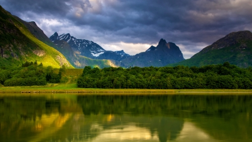 Beautiful Sights And Scenes Of Norway World Travel HD Wallpaper 23