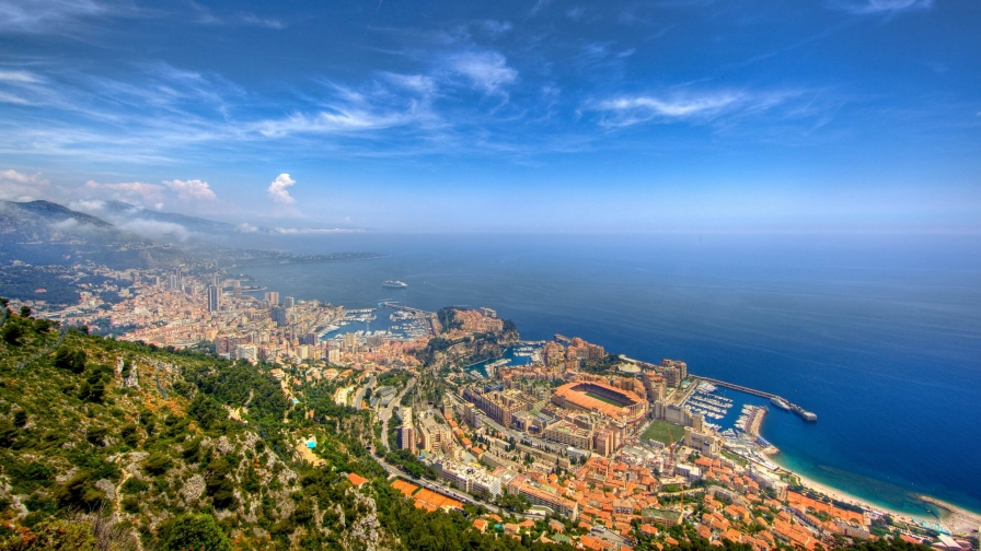 Beautiful Sights Of Monte Carlo HD Wallpaper 1