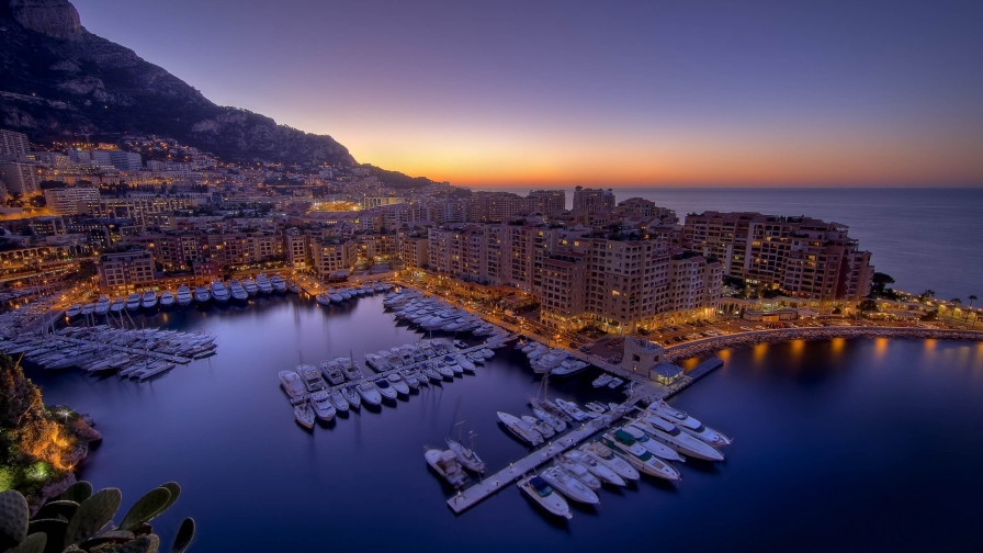 Beautiful Sights Of Monte Carlo HD Wallpaper 11