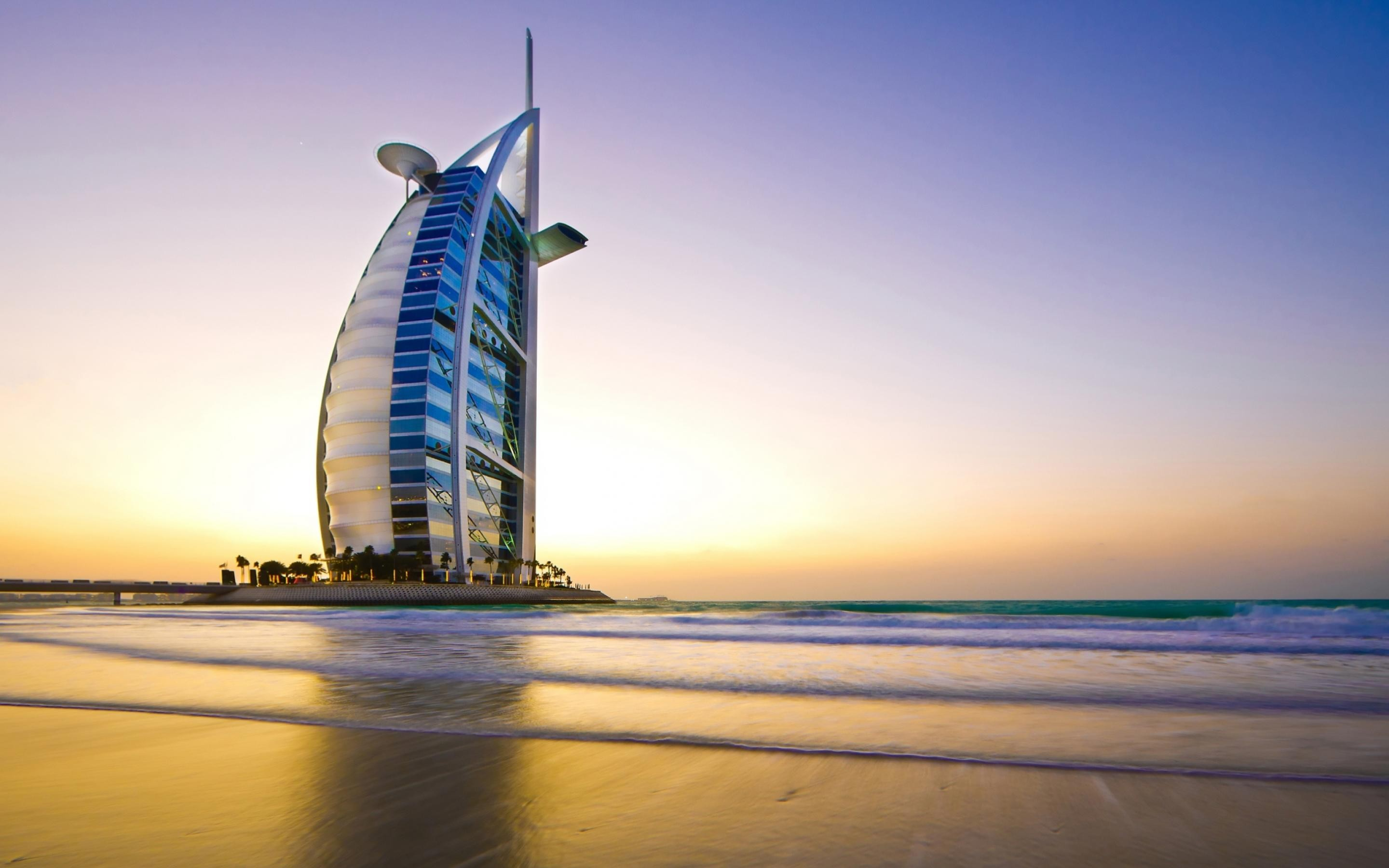 Burj Al Arab Dubai UAE HD Wallpaper 1 2880x1800