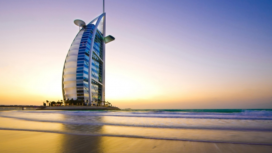 burj al arab dubai uae hd wallpaper 1