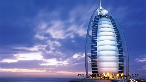 Burj Al Arab Dubai UAE HD Wallpaper 2