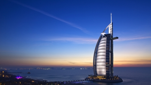 Burj Al Arab Dubai UAE HD Wallpaper 8