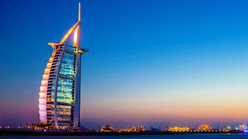 Burj Al Arab Dubai UAE HD Wallpaper 9