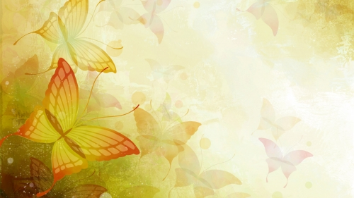 Butterflies Art HD Wallpaper