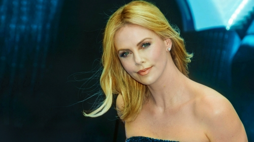 Charlize Theron Portrait HD Wallpaper