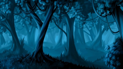Dark Woods Artistic Work Paintings 2560x1600 QHD Wallpaper 17