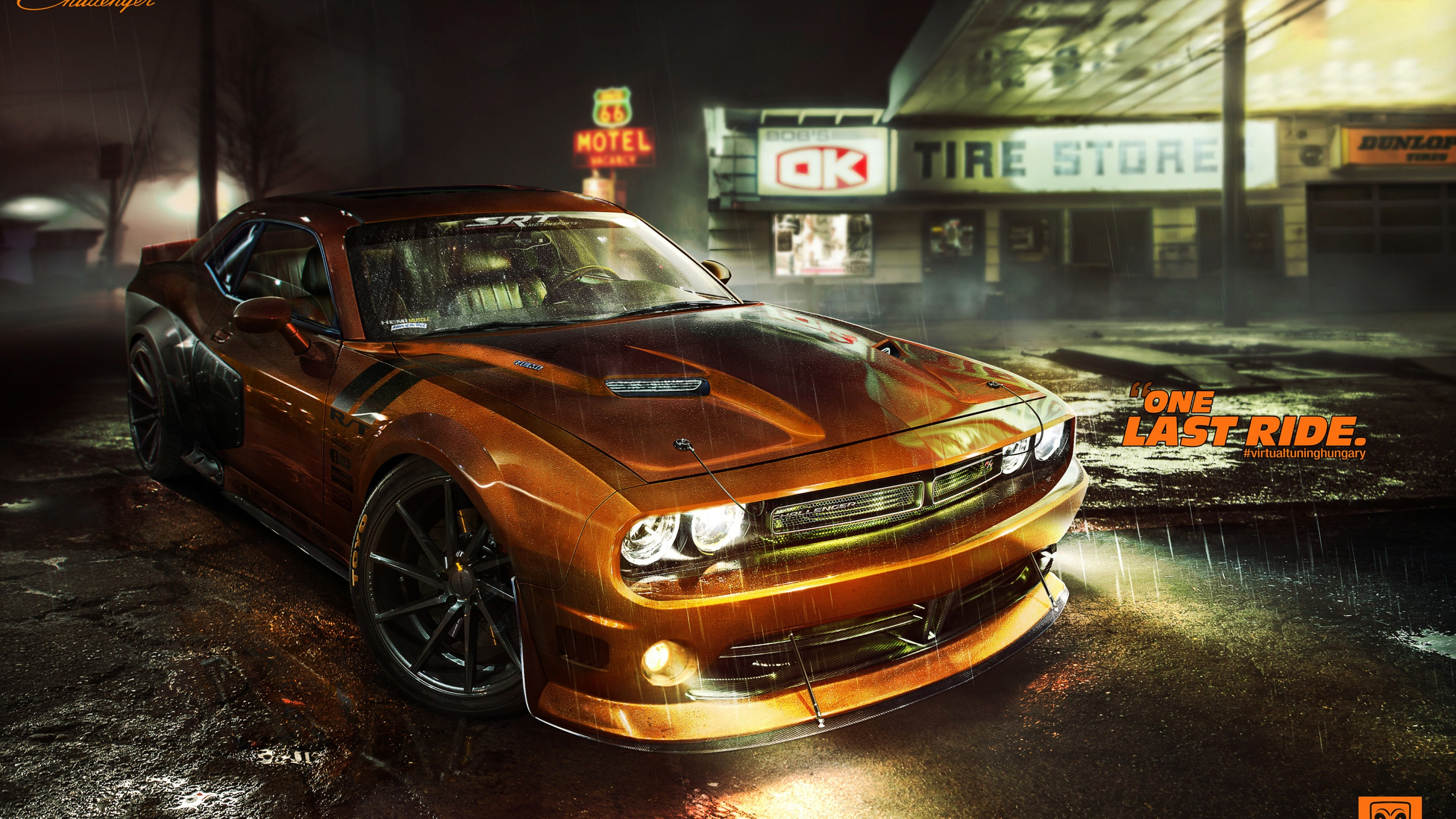Dodge Challenger Rt Car Hd Wallpaper 4k Desktop Mobiles 3840x2160